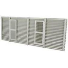 Amana AGK01SB Exterior Louvered Aluminum Grille-Custom Color-42""