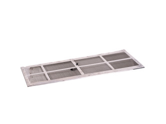 "Amana SGK01B Standard Stamped Aluminum Exterior Grille-42"" for Reconditioned PTACs"