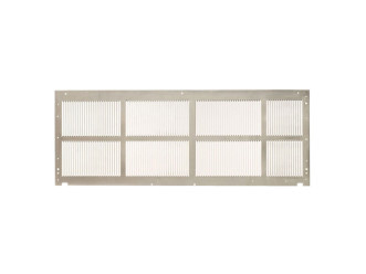 "Amana SGK01TB Standard Stamped Aluminum Exterior Grille-42"" Stonewood"