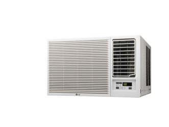 LG LW8016HR Window Air Conditioner 7500 BTU 115V w/Electric Heat