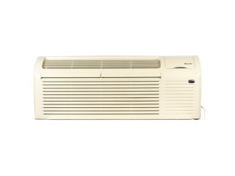 "PTAC Unit - 9k Gree 42"" 230v Air Conditioner With 3.0 kW Resistive Electric Heat"