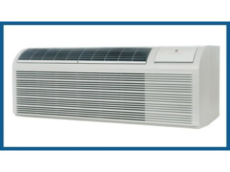 PTAC Unit - 9k Friedrich PDH Series 208v Air Conditioner with Heat Pump and 3.5 kW Resistive Electric Heat