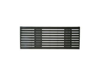 GE Molded Dark Brown PTAC Grille